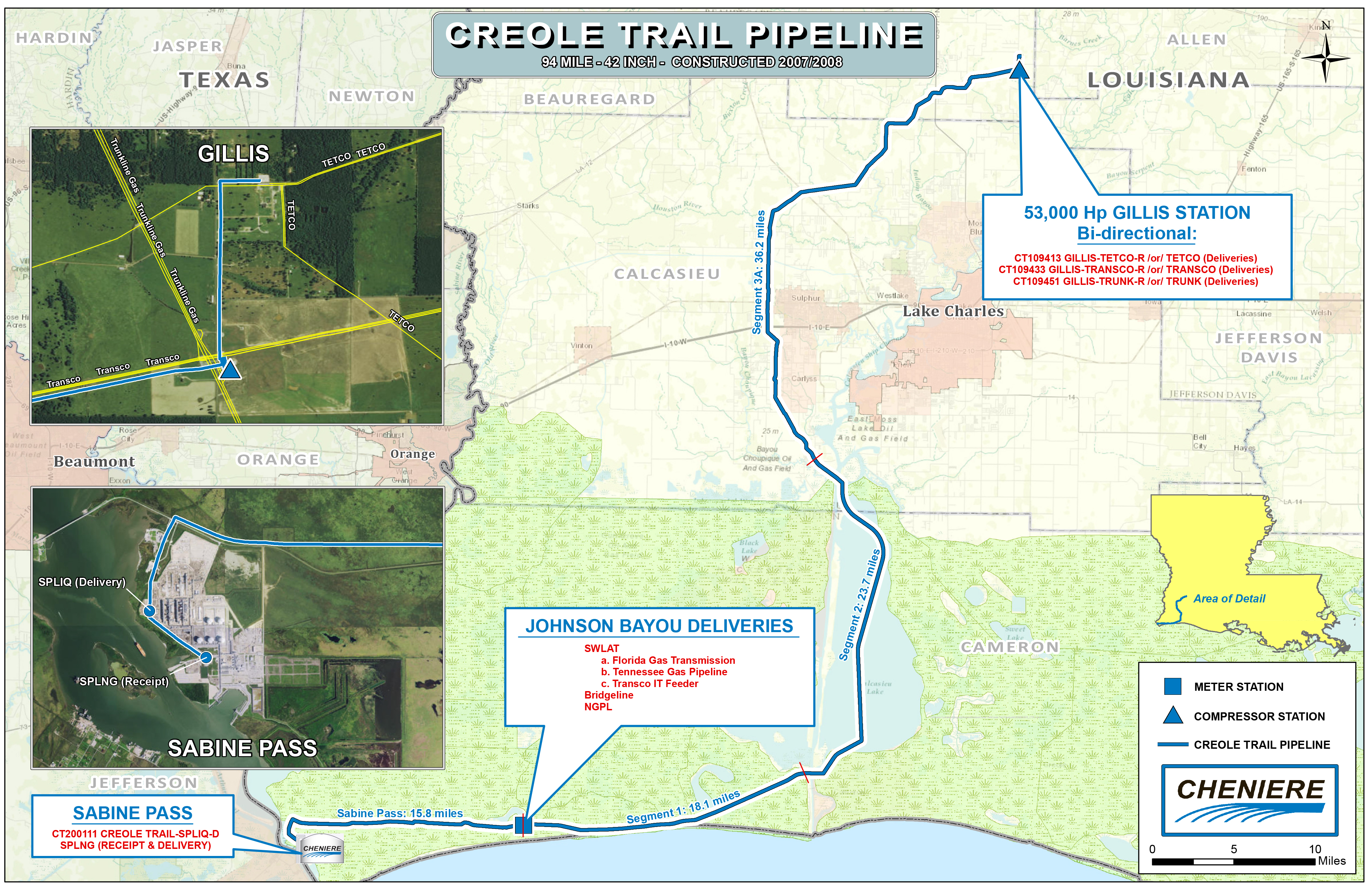 Creole Trail Pipeline | Cheniere Energy